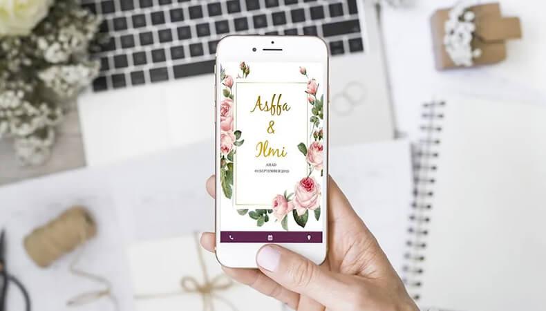 Wedding Digital Invitation card maker App
