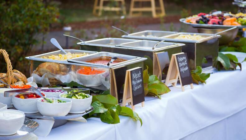 Wedding Reception Food Menu Ideas