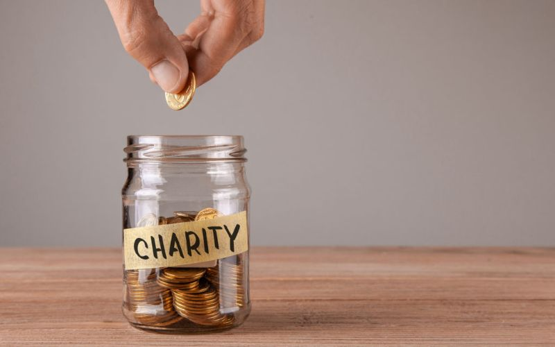 A Donation to Charity