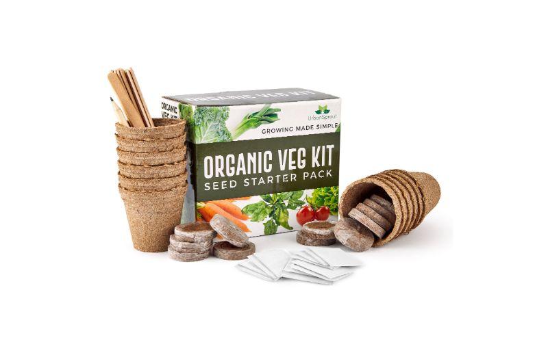 Eco-Friendly organic vegetable seeds kit wedding gift