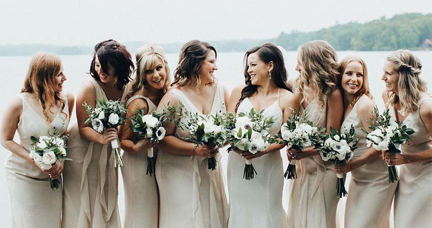 Bouquets for Bridesmaids