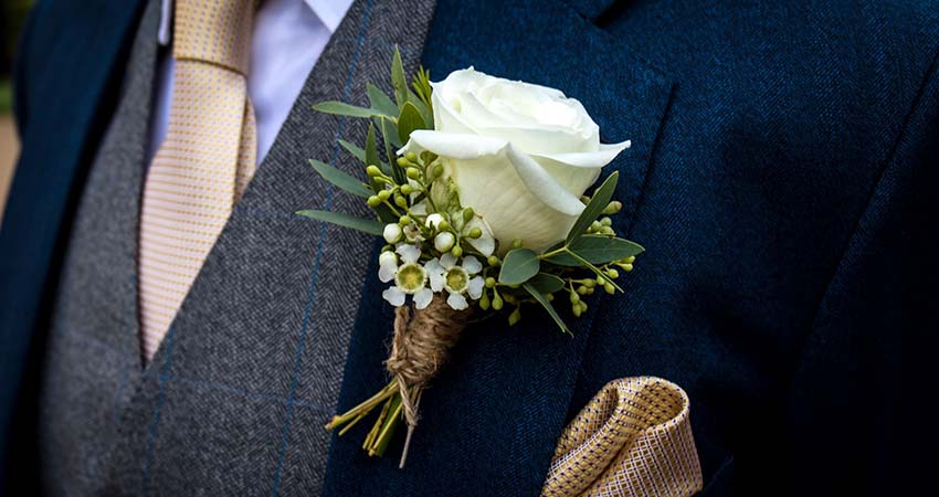 Boutonniere for the Groom