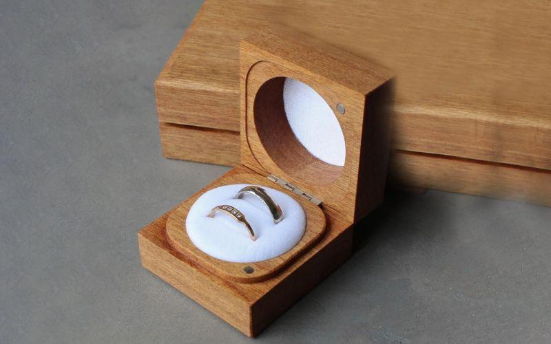 Eco-Friendly Ring Box Wedding Gift Ideas
