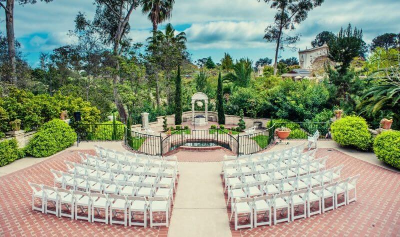 Outdoor wedding venue ideas