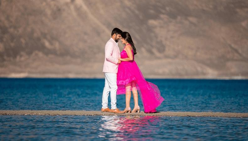 Pre-Wedding Photoshoot Dress Ideas