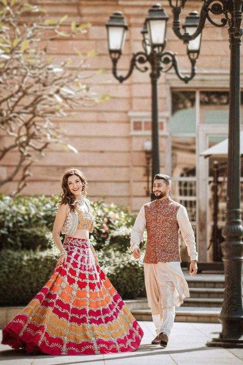 Pre-Wedding Photoshoot with Traditional Dress