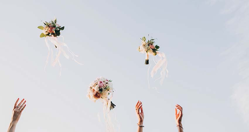 Tossing Bouquet