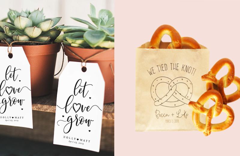 Wedding favor alternatives ideas