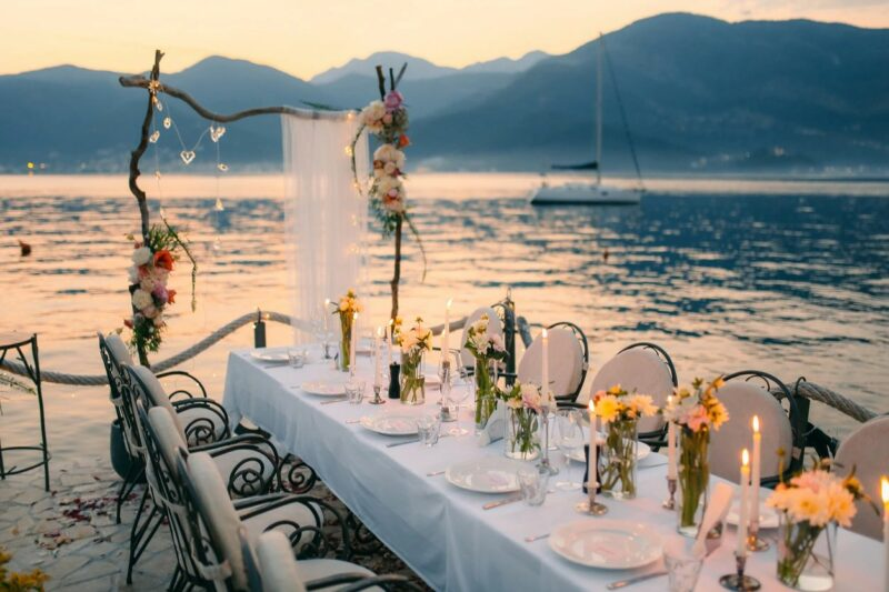 Amazing wedding reception location