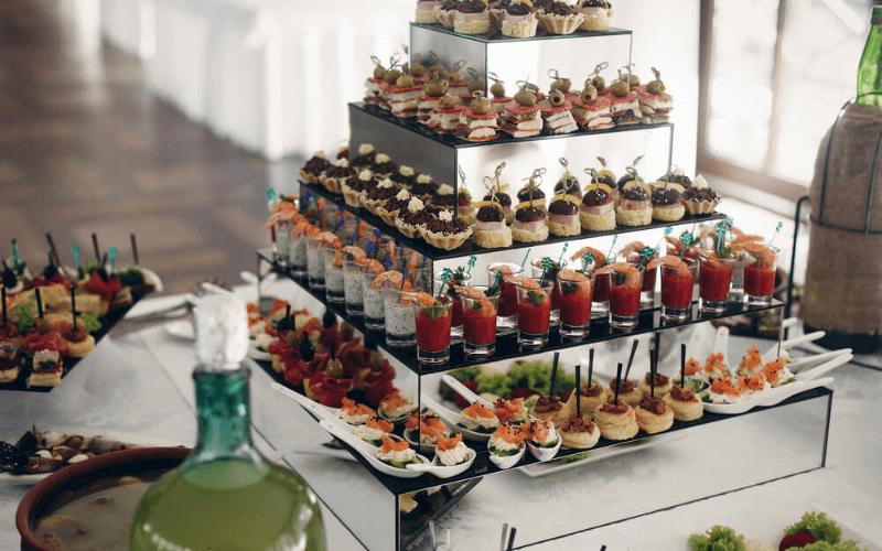 Wedding reception food alternatives ideas