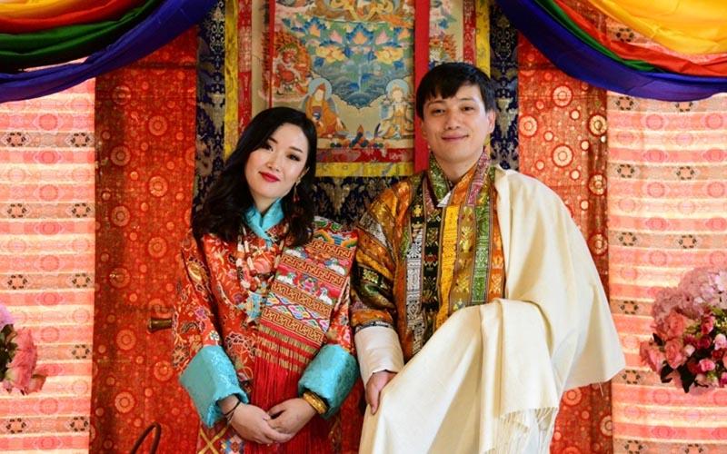 Bhutanese Wedding Attire