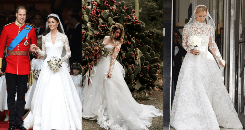 Choose the most appealing sleeve length and style for your dress