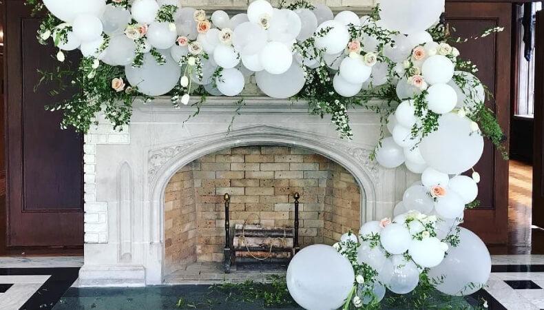 Creative Balloon Decor Ideas for Wedding Reception