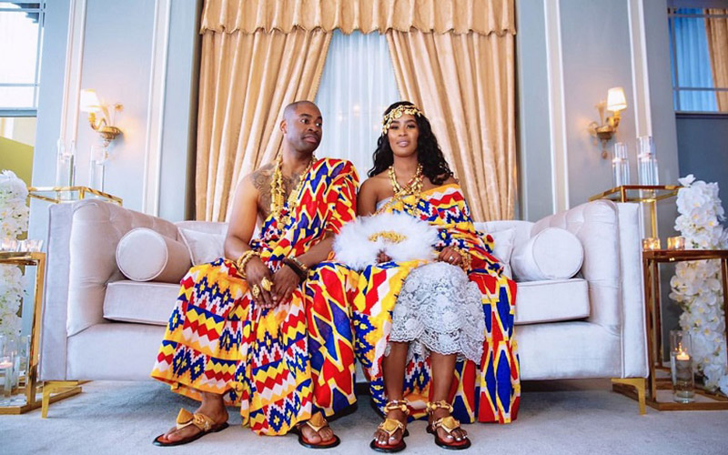 Ghananian Wedding Attire