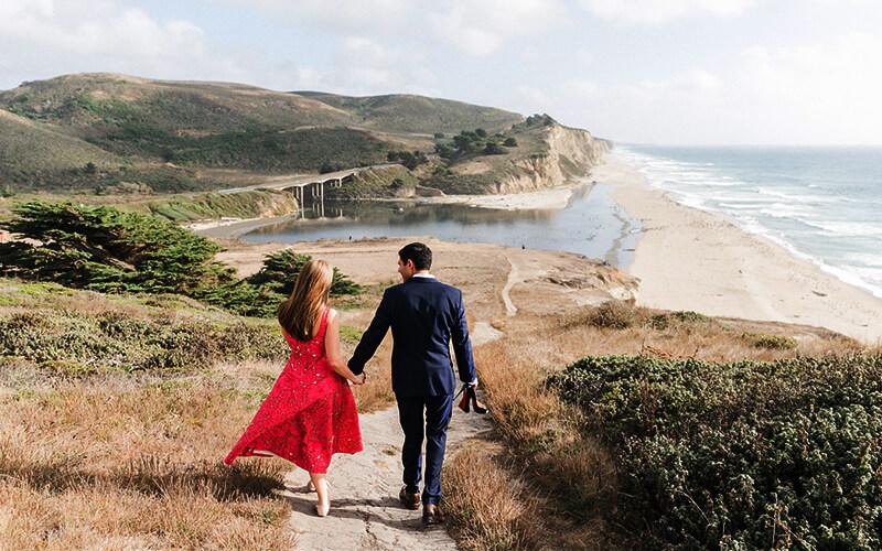 Half Moon Bay - Engagement Photography