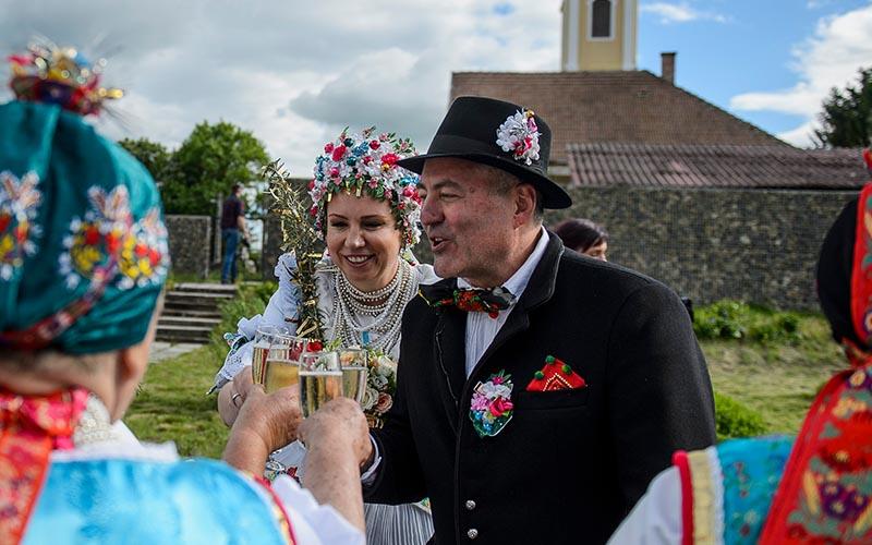 Hungarian Wedding Attire
