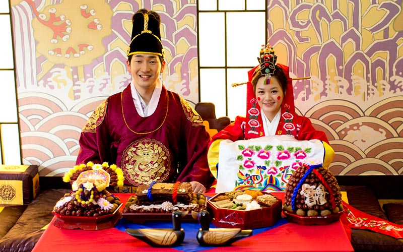 Korean Wedding Attire