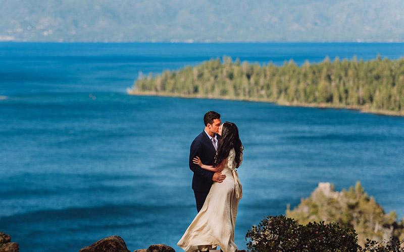 Lake Tahoe - Engagement Photo