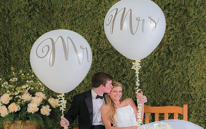 Make a Statement with Extra-Large Balloons