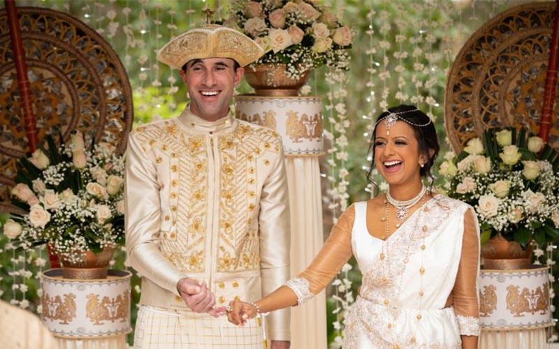 Sri Lankan Wedding Attire