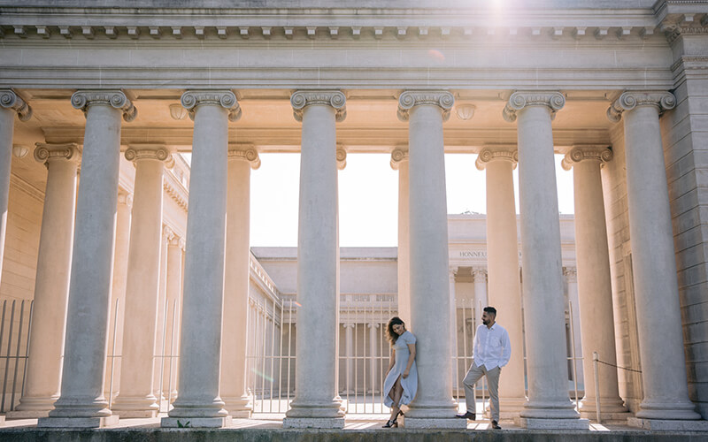 The Legion of Honor - Best Engagement Photography Location