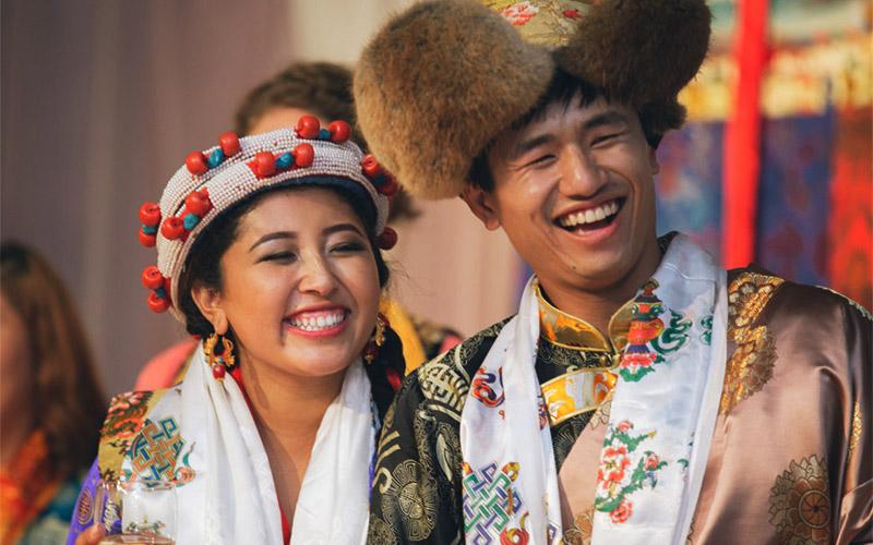 Tibetan Wedding Attire