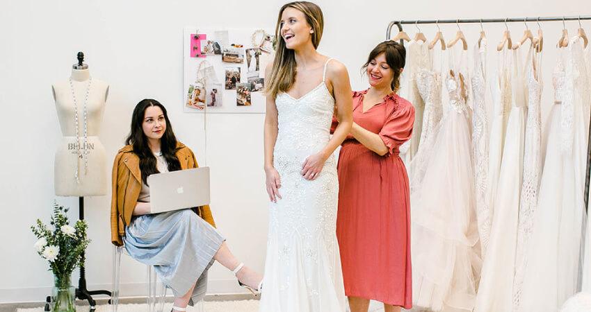 Wedding dress shopping idea