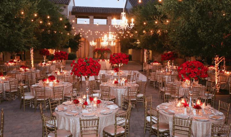 Romantic Valentine's Day Wedding Venue