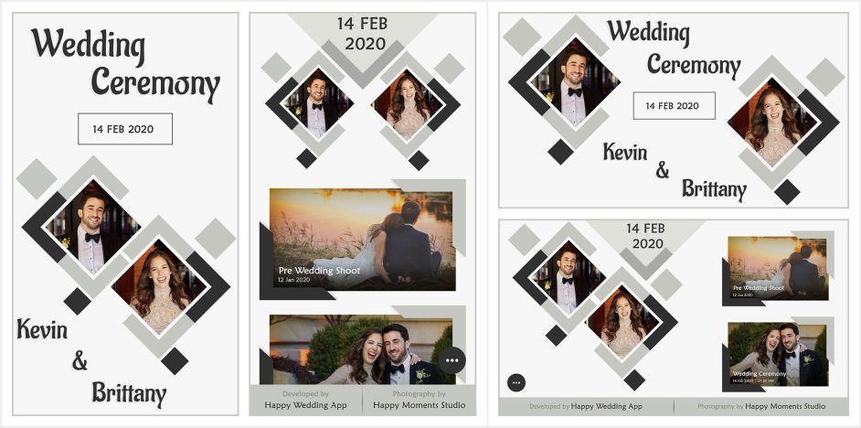 Best Wedding Album Themes Templates At Happy Wedding App